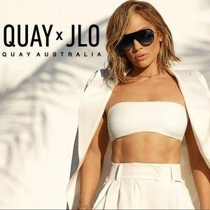 Quay Australia x JLo Empire aviator sunglasses